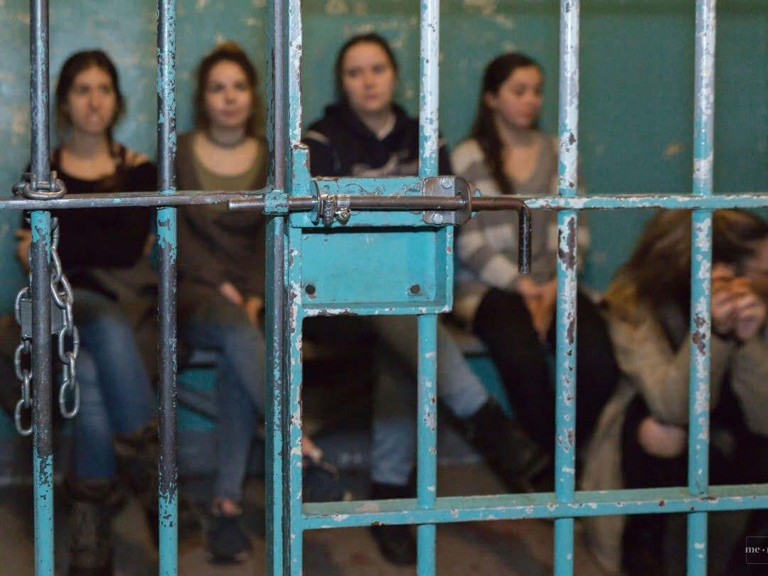 Les condamnés de la vieille prison